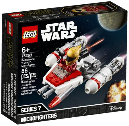 Lego Star Wars Mikromyśliwiec Y-Wing 75263