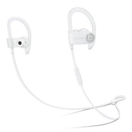 Słuchawki douszne bezprzewodowe BEATS Powerbeats3 Wireless - Białe