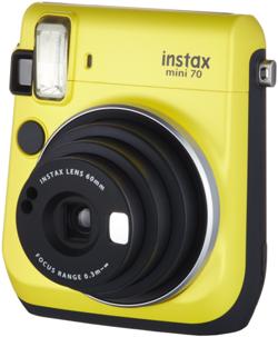 Aparat FujiFilm Instax Mini 70 żółty
