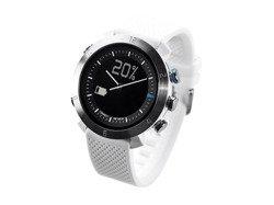 Cogito Classic - analogowy zegarek z cyfrowym wyświetlaczem dla iOS i Android (biały)