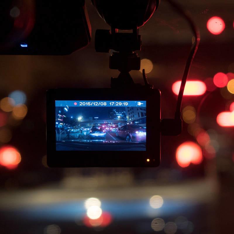 Kamera samochodowa rejestrator XIAOMI YI DASH - szary