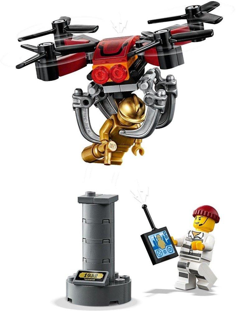 Klocki LEGO CITY Pościg policyjnym dronem - 60207