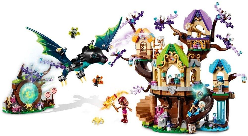 Klocki LEGO ELVES - Atak nietoperzy na Drzewo Elvenstar - 41196
