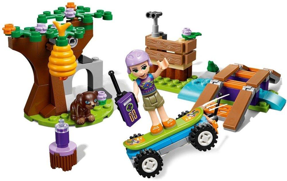 Klocki LEGO Friends Leśna przygoda Mii - 41363