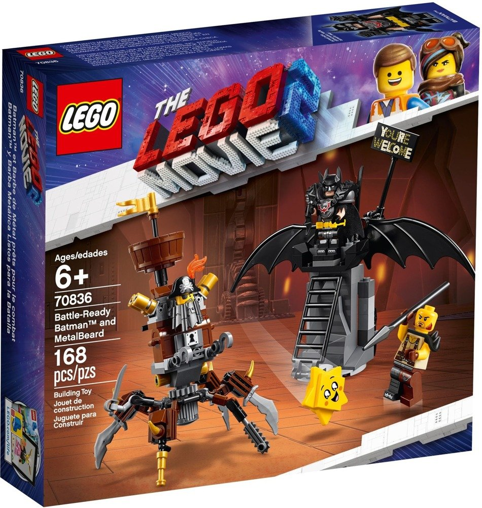 Klocki LEGO Movie - Batman™ i Stalowobrody - 70836