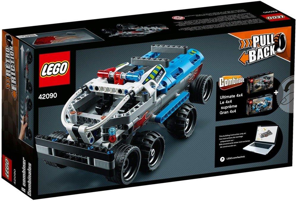 Klocki LEGO TECHNIC Monster truck złoczyńców - 42090