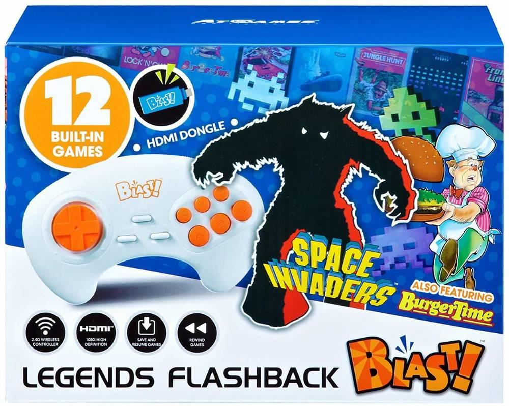 Konsola retro 12 gier Namco Space Invaders