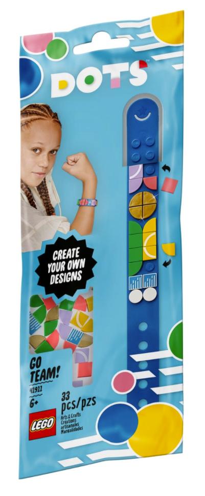 Lego DOTS Bransoletka sportowa 41911