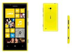 Nokia Lumia 720 żółta