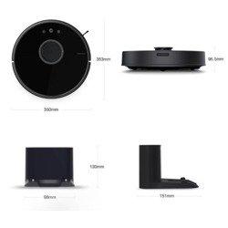 Odkurzacz automatyczny Xiaomi Mijia Roborock S55 Vacuum Cleaner 2 generacji czarny