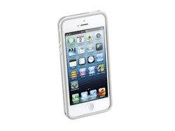 Opaska anti-shock Bumper do iPhone 5 /5s biała + 2 folie ochronne przód i tył