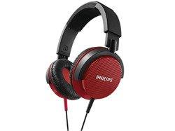 Słuchawki Philips SHL3100 czerwone